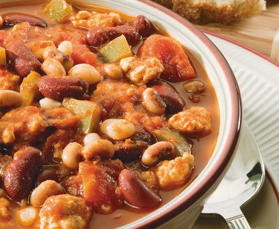 3-Bean Turkey Chili