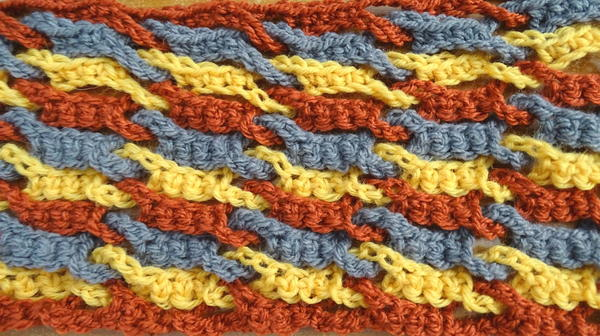 Single Weave and Link Stitch