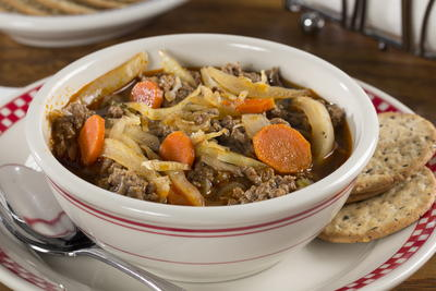 EDR Easy Hamburger Soup