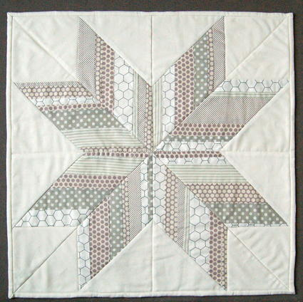 Icy Strips Lone Star Quilt Favequilts Com