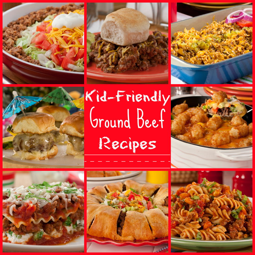 25 kid friendly ground beef recipes for What to make with hamburger meat for dinner
