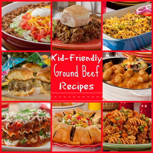 25 kid friendly ground beef recipes for Things you can make with ground beef