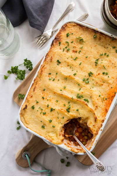 Veggie Loaded Easy Cottage Pie