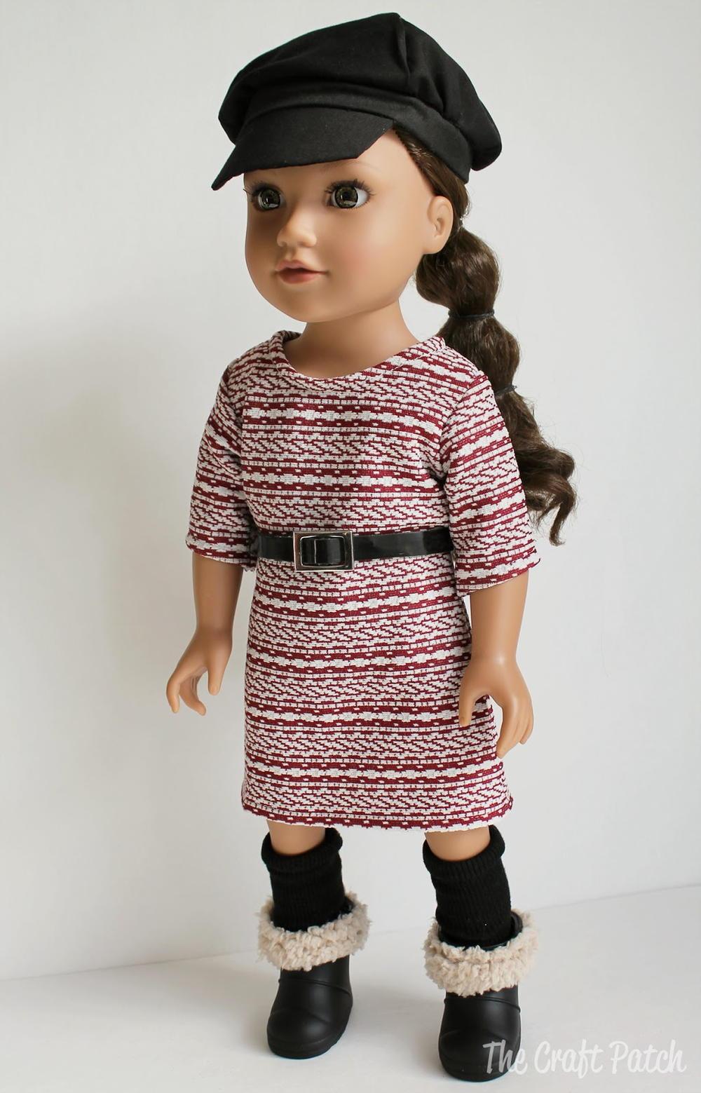 Super Versatile Doll Dress Pattern | AllFreeSewing.com