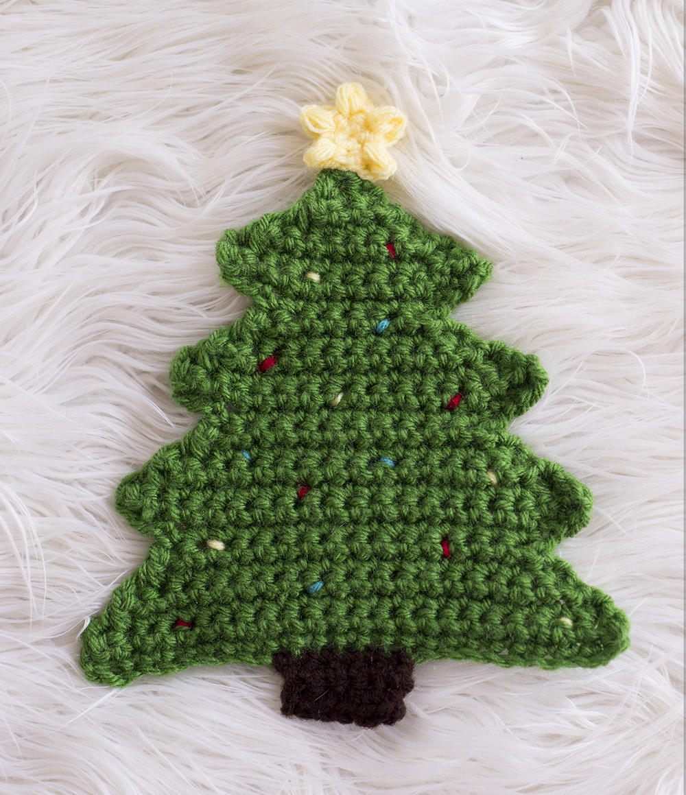 Thread Christmas Tree: Christmas Tree Pot Holder Pattern