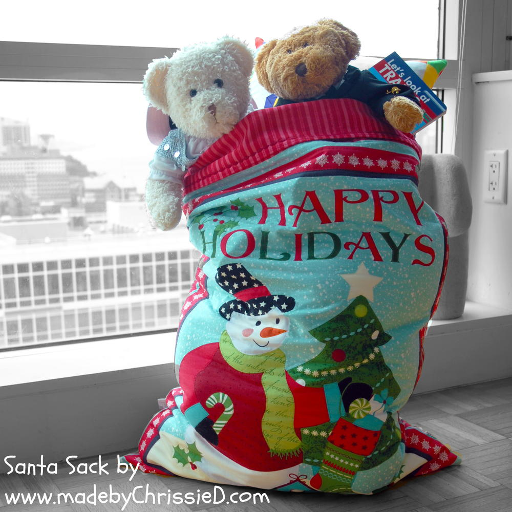 Santa Sack Free Quilting Pattern Favequilts Com