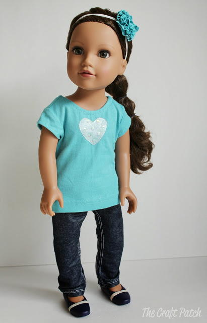 American Girl Inspired Jeans And Skirt Pattern