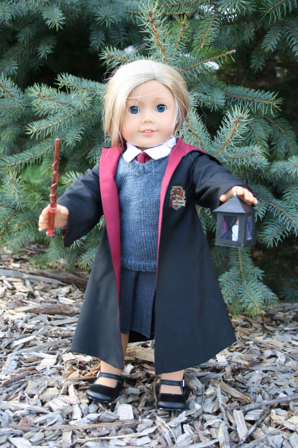 Harry Potter Inspired Doll Sewing Pattern Allfreesewing Com