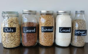 Chalk Paint Pantry Jars