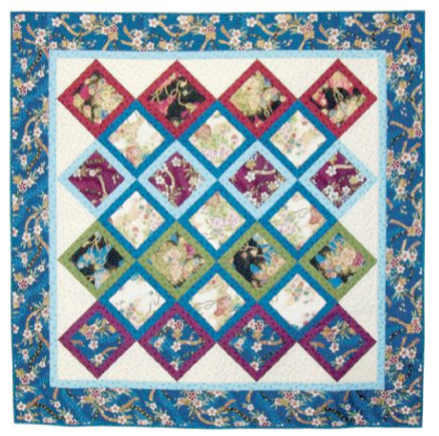 Hoshis Garden Quilt Pattern FaveQuiltscom