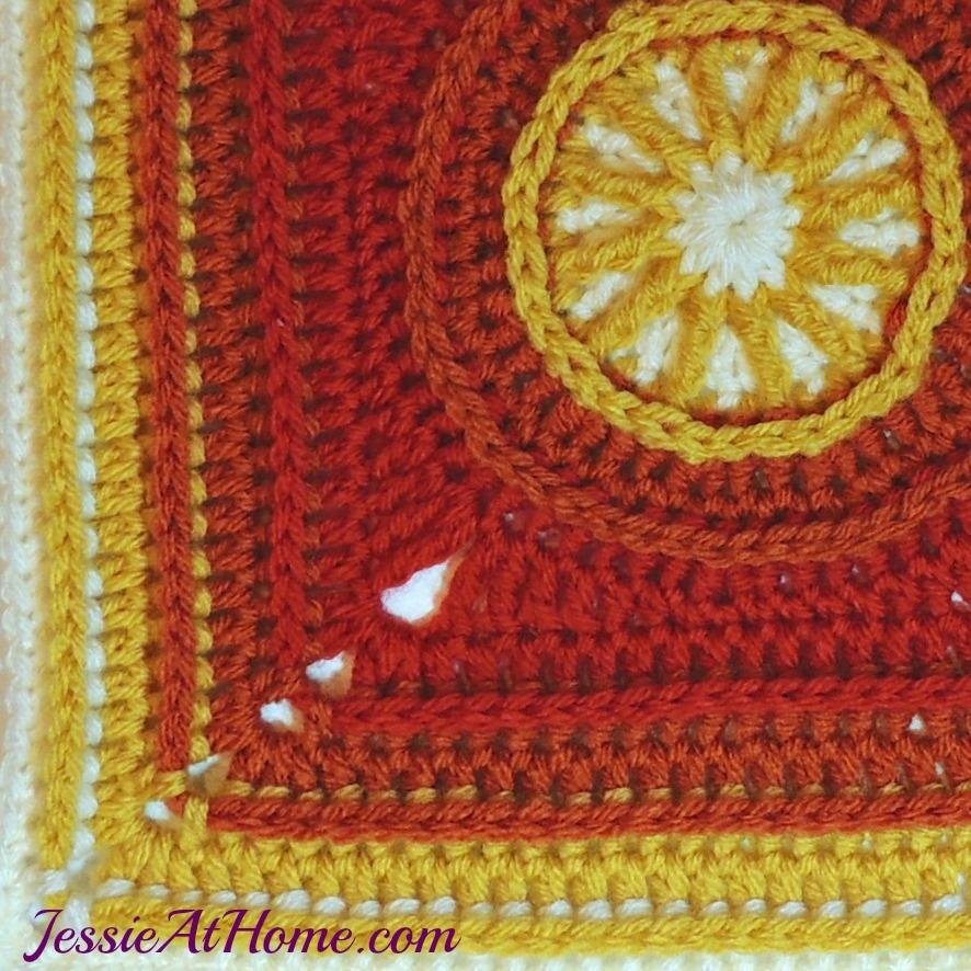 Crochet Flame Stitch Afghan