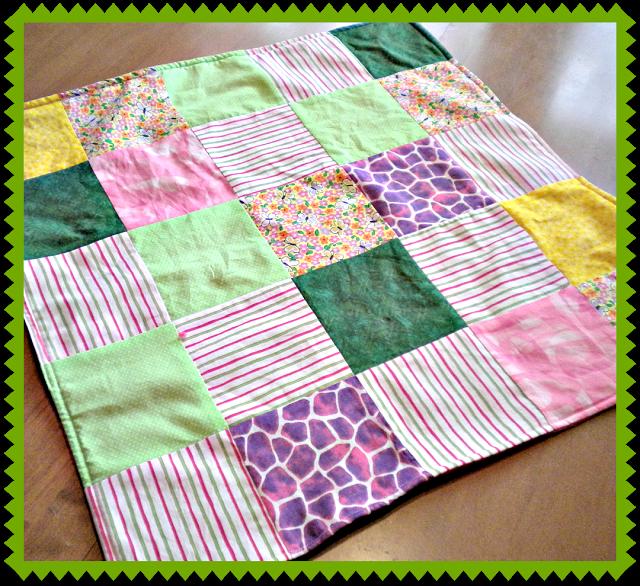 patchwork fleece doll blanket favecraftscom