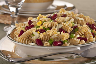 EDR Light Pasta and Bean Salad