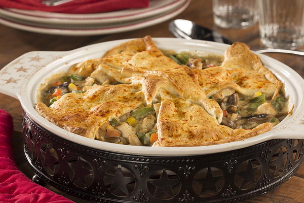 Lighter Chicken Pot Pie | EverydayDiabeticRecipes.com