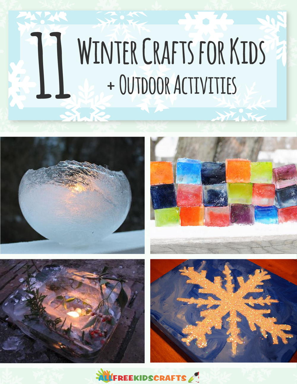 11 Winter Crafts for Kids Outdoor