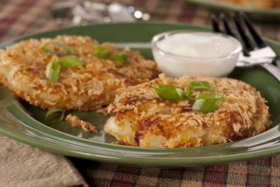 EDR Mashed Potato Pancakes