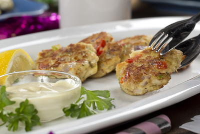 EDR Mini Crab Cakes