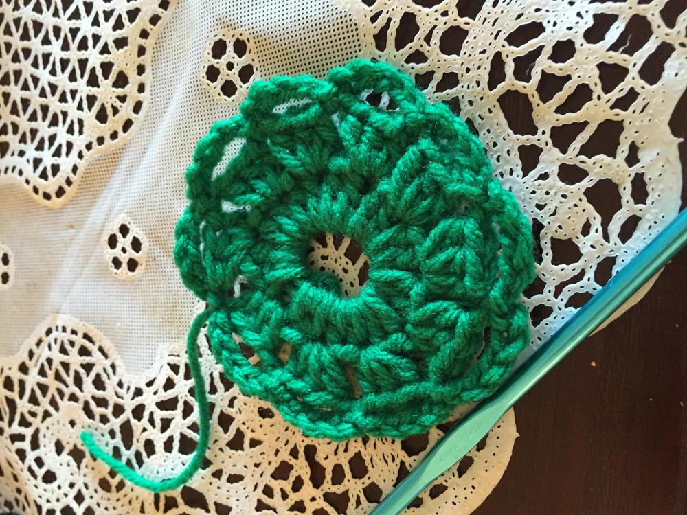 Christmas Wreath Pin Allfreecrochet Com