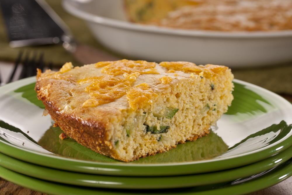 Zucchini Corn Bread Pie   EverydayDiabeticRecipes.com