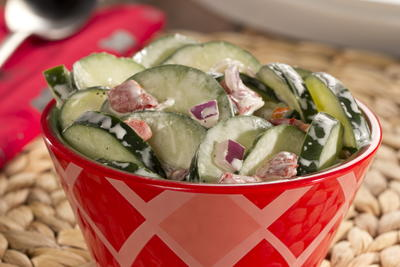 Ranch-Style Cucumber Salad