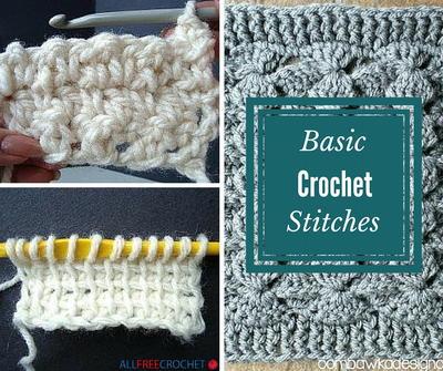 30+ Basic Crochet Stitches AllFreeCrochet.com