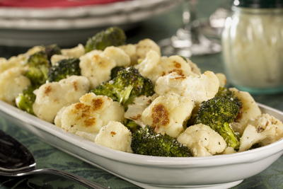 EDR Roasted Cauliflower and Broccoli Medley