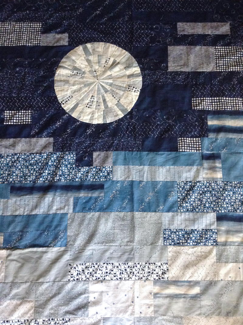 Full Moon Quilt Pattern Favequilts Com