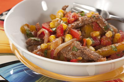 EDR Steak Fajita Bowl