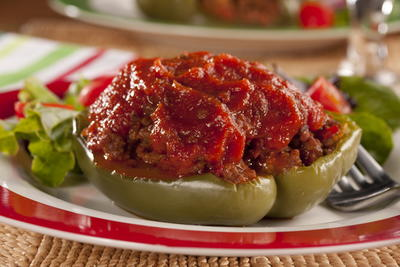 EDR Stuffed Peppers Italiano