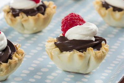 Chocolate Dessert Shells