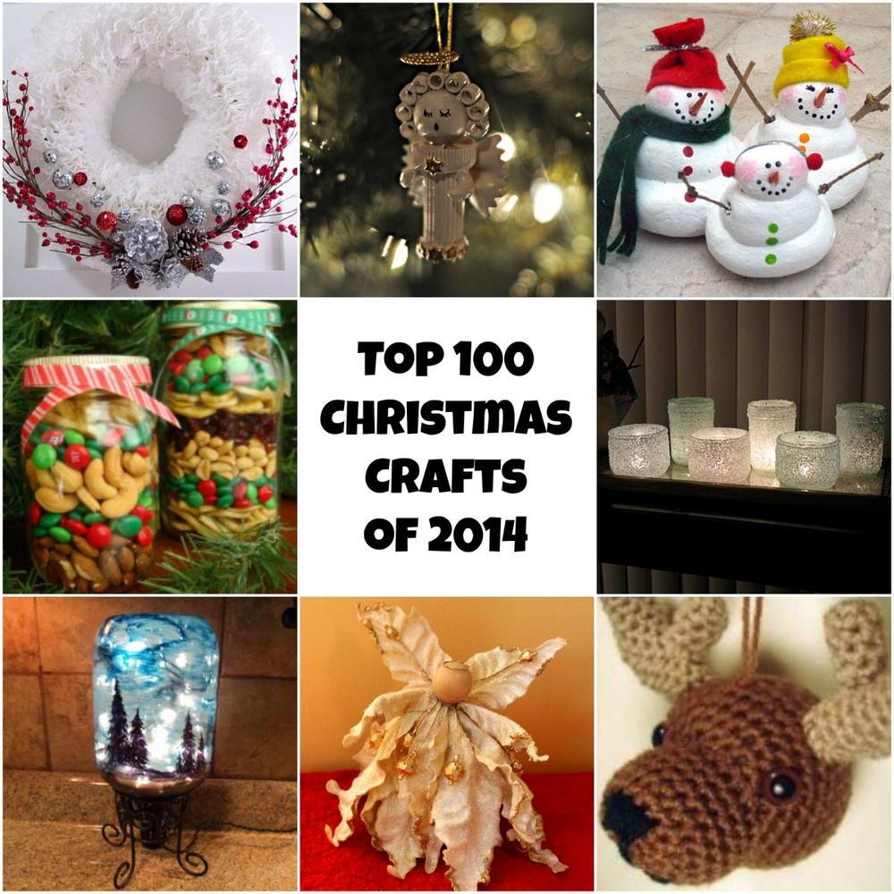 Homemade Diy Christmas Gifts: Top 100 DIY Christmas Crafts Of 2014: Homemade Christmas