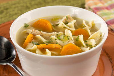 Shortcut Chicken Noodle Soup