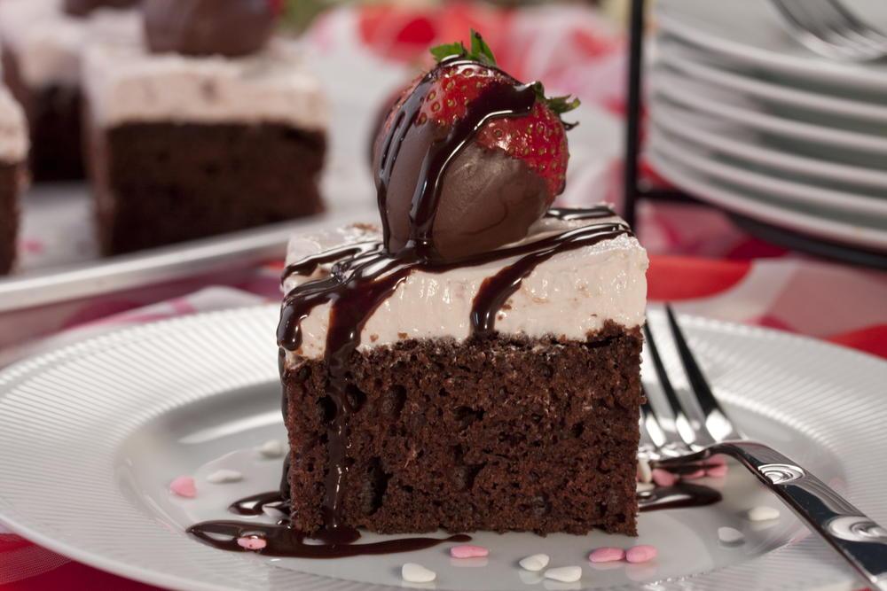 Cupid S Chocolate Cake Mrfood Com