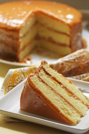 Homemade Southern Caramel Cake Recipe