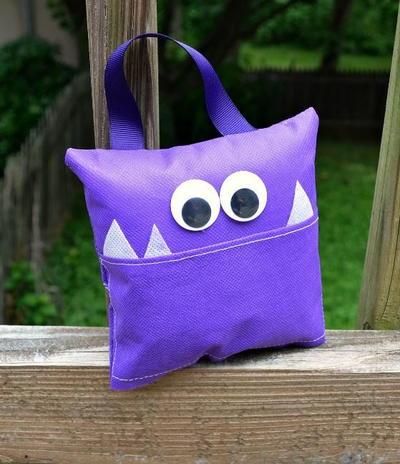 Applique Monster Diy Pillows Allfreekidscrafts Com
