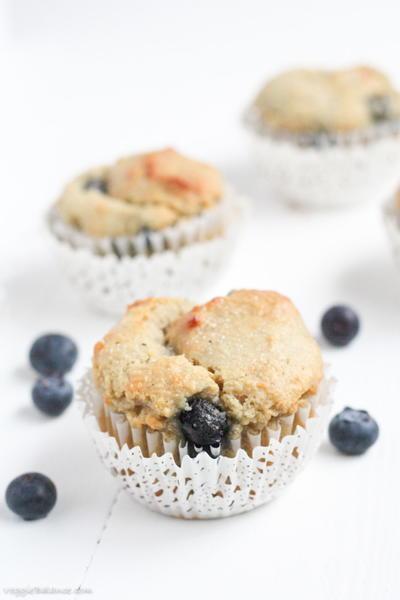 Very Berry Blueberry Muffins | FaveHealthyRecipes.com