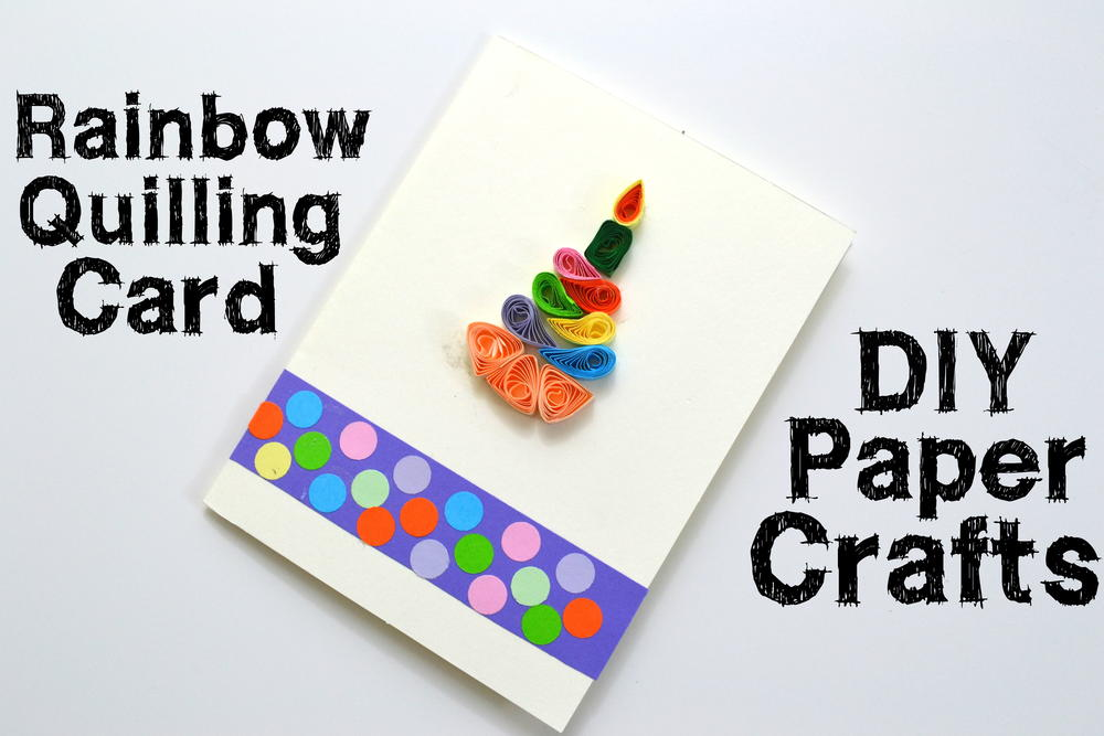 paper quilling birthday card  favecrafts