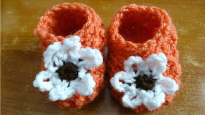 Glover Stitch Crochet Booties