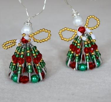 Sweet Safety Pin Angels Allfreechristmascrafts Com