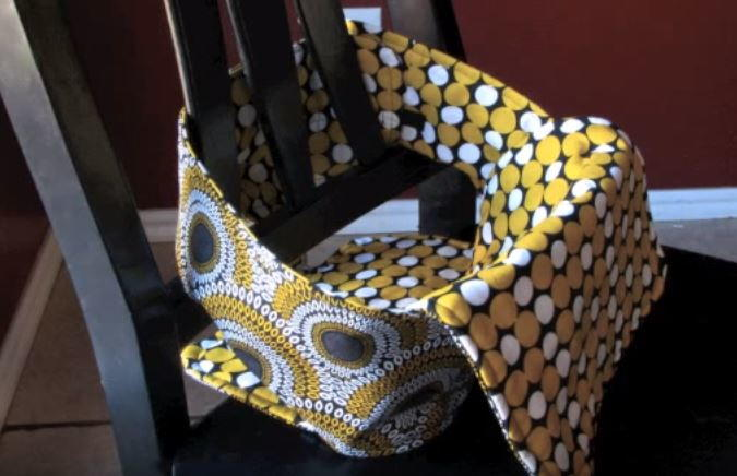 How To Sew A Portable High Chair Allfreesewing Com