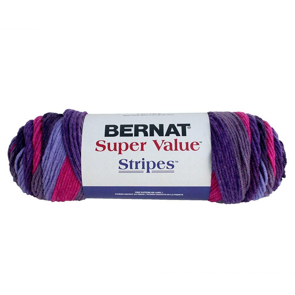 Bernat Super Value Stripes Allfreecrochet Com