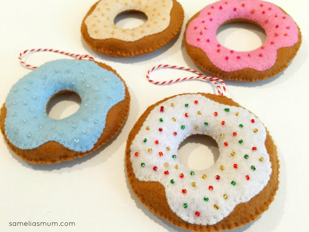 Donut Decorations Allfreesewing Com