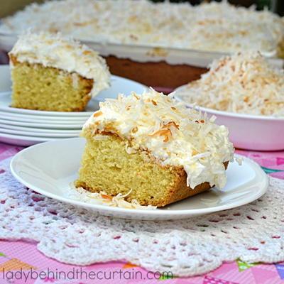 Old-Fashioned Coconut Cake   FaveSouthernRecipes.com