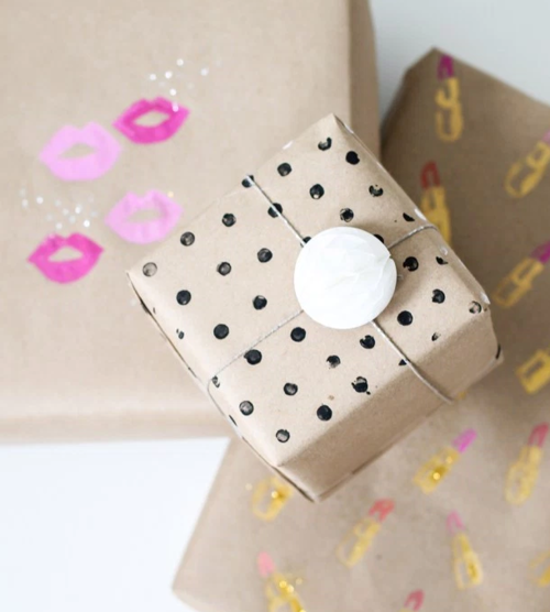 make your own wrapping paper How to make professional-looking gift bags crafts beware of using wet glue because it might make your paper i love making my own gift wrapping and i think.