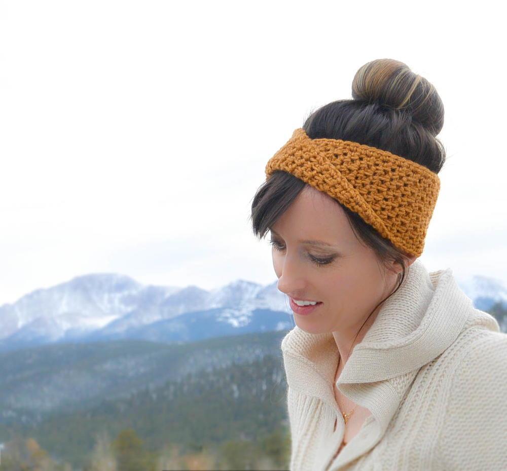 Fave Twist Crochet Headband Favecrafts Com