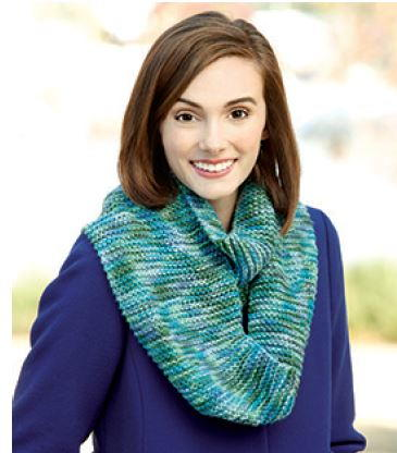 Knook Infinity Scarf Pattern