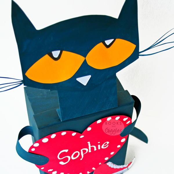 Pete The Cat Valentine Box Allfreekidscrafts Com