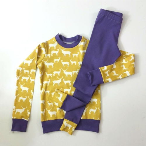 Knit Pajama Sewing Pattern