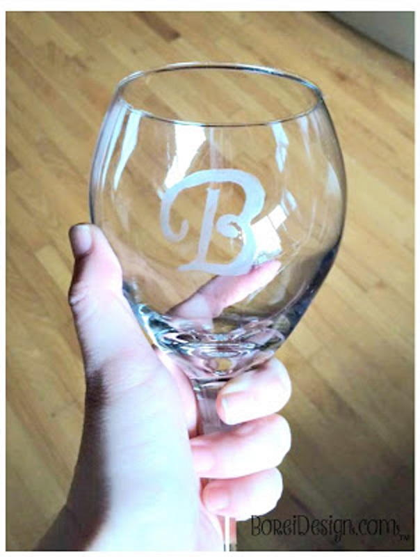 Dollar Store Wine Glass Favecrafts Com