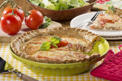 Summers Best Tomato Pie